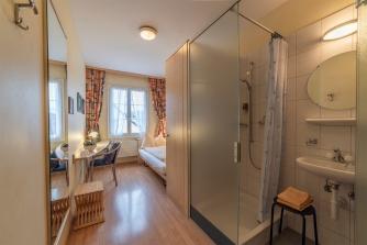 Einzelzimmer mit Dusche/ WC
